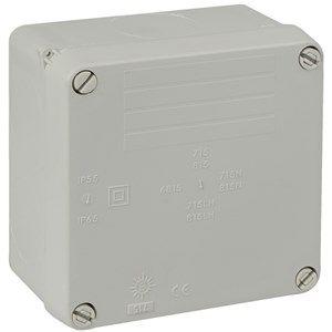 Wiska WIB1 IP65 Weatherproof Sealed 110 x 110 x 60mm Adaptable Box | 815LH