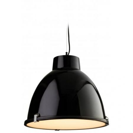 Firstlight Manhattan Single Light Pendant Black | 8621BK