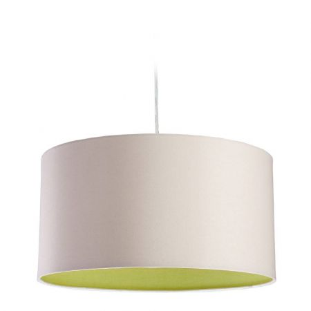 Firstlight 8630CRGN Zeta Cream & Green Pendant Light