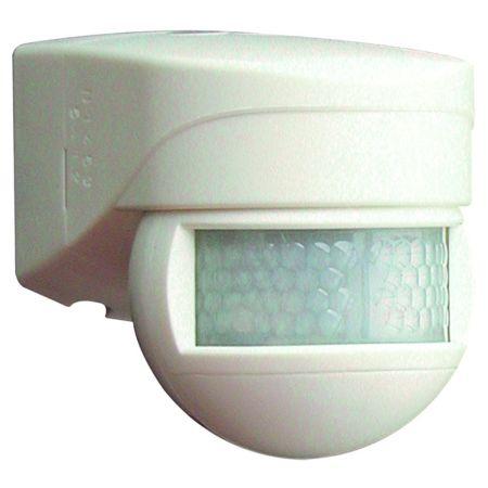 B.E.G Luxomat 91052 Mini Outdoor PIR 180º Detector LC Mini 180 W White