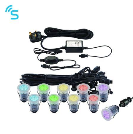 Saxby Smart IkonPRO RGB IP67 0.75W Deck Light Kit | 91961