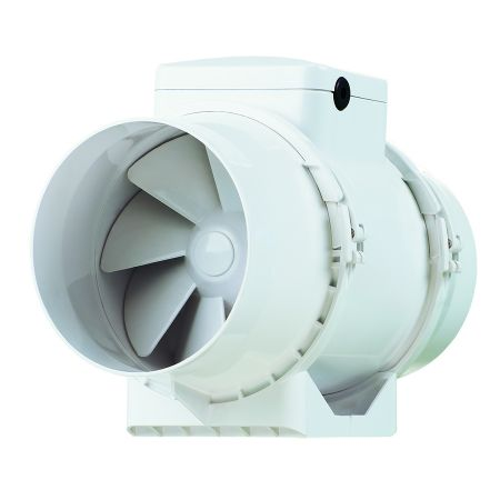 Xpelair XIMX100T 100mm Centrifugal Inline Fan With Timer 93079AW