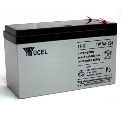 Yuasa Yucel 7-12v Back Up Battery For Alarm Control Panels | V142401