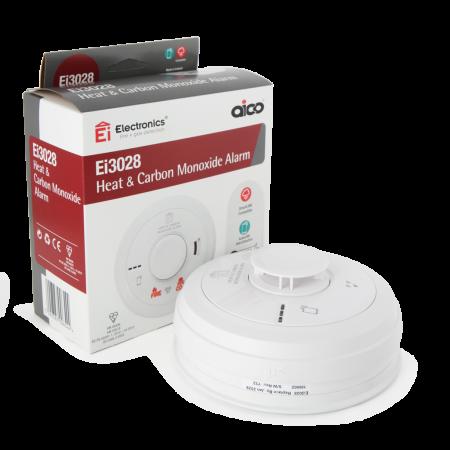 Aico 3000 Series Multi-Sensor Heat & CO Alarm | Ei3028