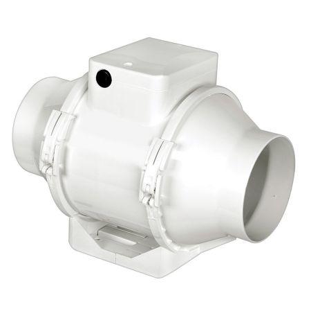 Airflow Aventa In-Line Mixed Flow Timed Extractor Fan 100mm | AV100T