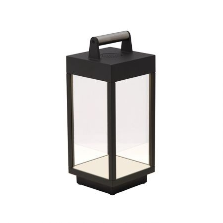 Ansell ORNO 6W LED Large Portable Lantern with Integrated Bluetooth Speaker   AORNLED/PL2