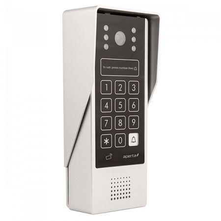 ESP Aperta Multiway Video Door Entry Station with Code Entry & Prox | APDSPXMW