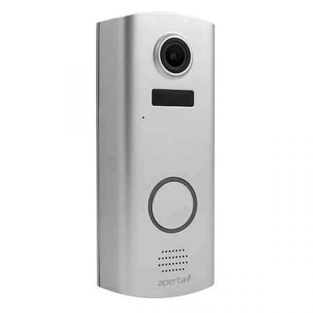ESP Aperta Battery Powered Wi-Fi Door Station with Record Facility Silver | APWIFIDSBP2