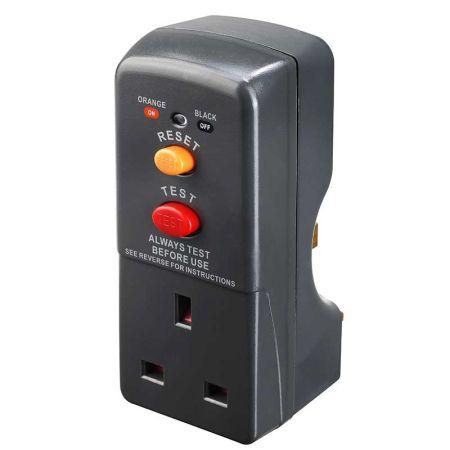 Masterplug RCD 13A Safety Adaptor | ARCDKG
