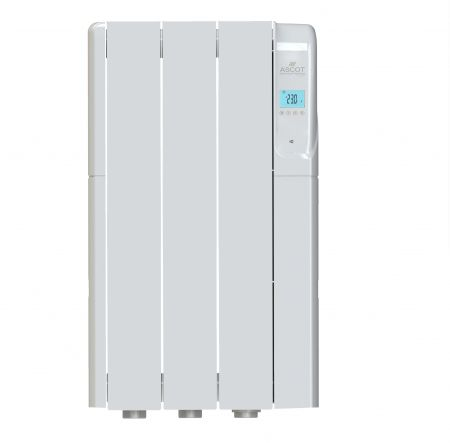 Ascot Wi-Fi Enabled Thermo-Fluid 500W 3 Element Electric Heater | ASCOT0500WF/WIFI