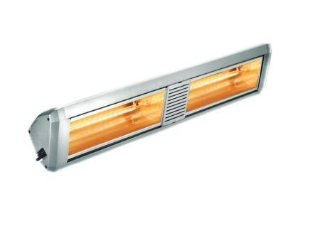 ATC Sienna 4Kw Outdoor Quartz Infra-Red Electric Heater Silver   SIE4KW-SL