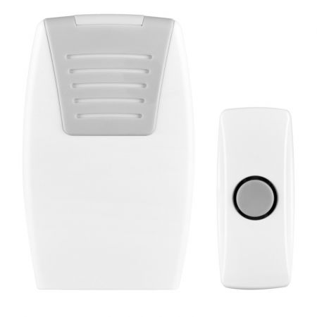 Masterplug Wireless Battery Powered 100m Portable Door Chime | BDCPO100