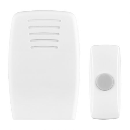 Masterplug Wireless Battery Powered 30m Portable Door Chime | BDCPO30