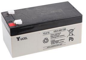 Yuasa Yucel 3.2-12v Back Up Battery For Burglar Alarm Control Panels | V141501
