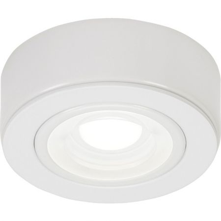 Knightsbridge CABWCW White 230v Under Cabinet Light 4000K Cool White