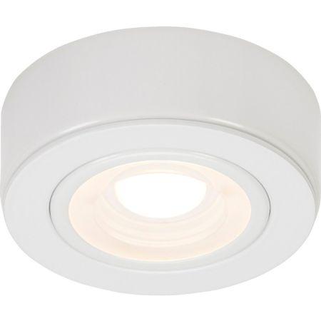 Knightsbridge CABWWW White 230v Under Cabinet Light 3000K Warm White