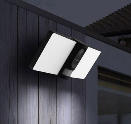 Link2Home LED Floodlight with PIR and WiFi Camera | L2H-FLOODLIGHTCAM