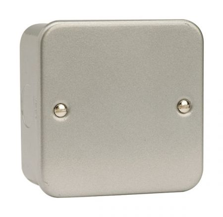 Click Essentials Metalclad Single Blank Plate   CL060