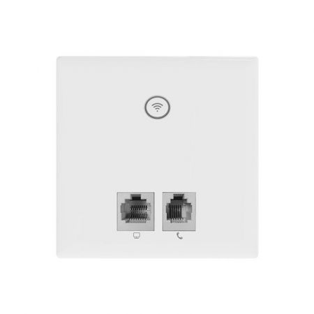 Clear Flow WAP T In-Wall 300Mbps WiFi Access Point with RJ11 CF-WAPT