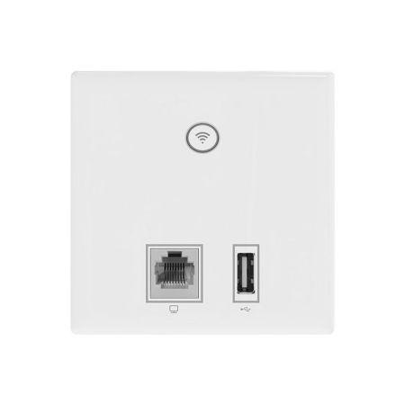 Clear Flow WAP U In-Wall 300Mbps WiFi Access Point with USB CF-WAPU
