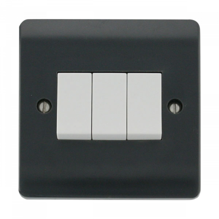 Click Mode Part M 3 Gang 2 Way Switch | CMA013AG