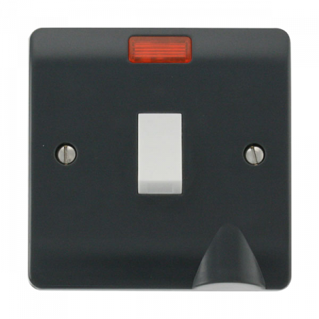 Click Mode Part M 20A DP Switch With Neon | CMA023AG