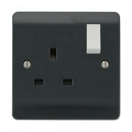 Click Mode Part M 13A 1 Gang DP Switched Socket | CMA035AG