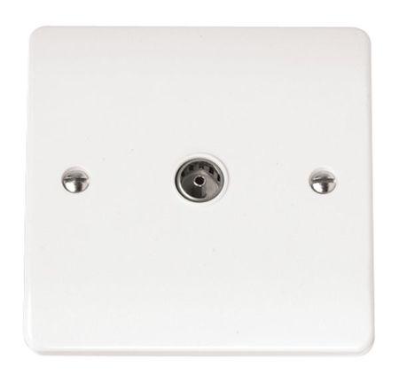 Click Mode Single Coaxial Socket Outlet CMA065