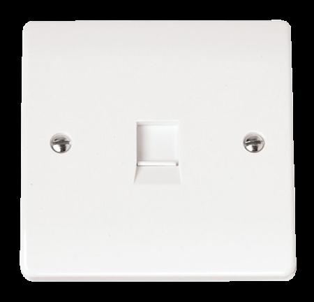 Click Mode Single RJ11 (Irish/US) Outlet | CMA115