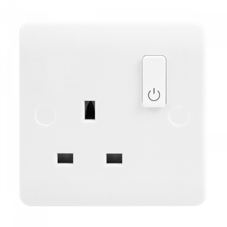 Click Smart Plus Mode 13A 1 Gang Zigbee Smart Switched Socket Outlet | CMA30035