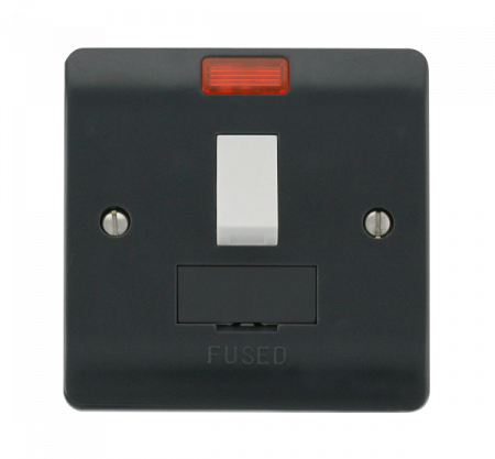 Click Mode Part M 13A Switched Fused Connection Unit with Neon   CMA652AG