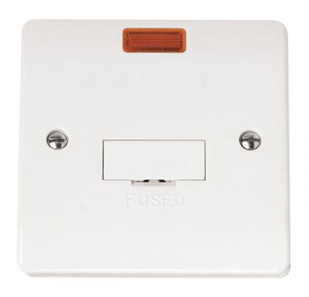 Click Mode 13a Unswitched Fused Connection Unit With Neon CMA653