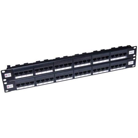 Connectix 48 Port Cat5e UTP Elite Patch Panel | 009-001-009-20