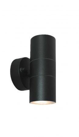 Core Lighting Up and Down Wall Light Black   CP-BUDL-GU10