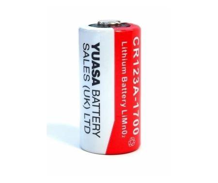 Yuasa High Capacity CR123A 3V 1700mAh Lithium Battery | CR123A