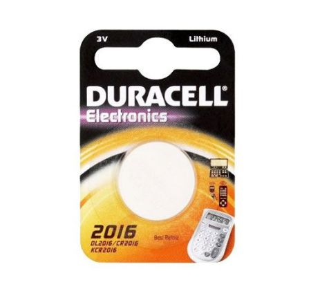 Duracell CR2016 Lithium Coin Cell Battery