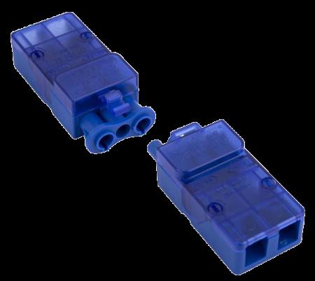 Click Flow 20A 3 Pole Complete Push-Fit Connector | CT105C