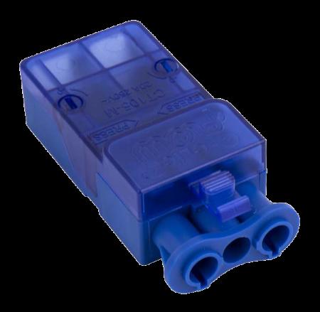 Click Flow 20A 3 Pole Male Push-Fit Connector | CT105M
