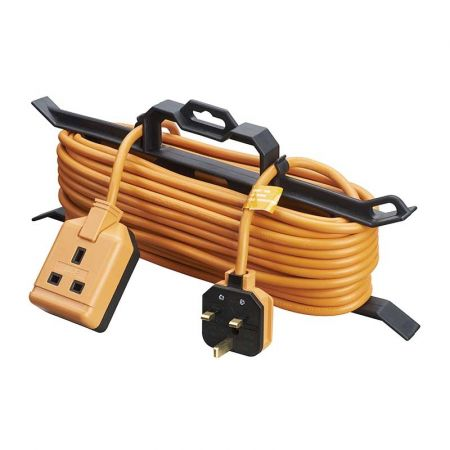 Masterplug 15M Single Socket Garden Extension Lead with Cable Tidy | CT1513