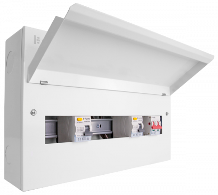Click Elucian 18 Way Dual RCD Split Load Consumer Unit  | CUEB18MSRCD12 | Alert Electrical