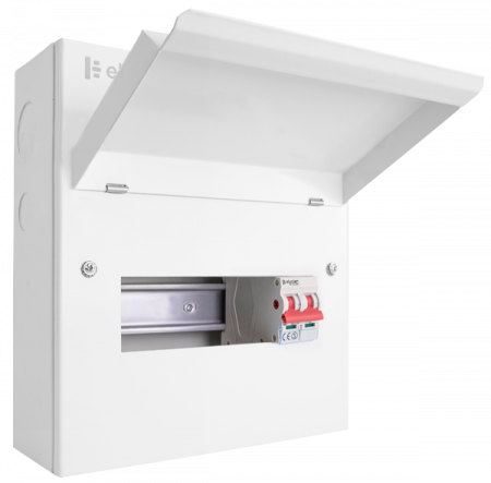 Click Elucian 8 Way 100a Main Switch Consumer Unit  | CUEB8MS6 | Alert Electrical