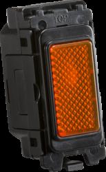 Knightsbridge Curved Amber indicator module. CUGM12