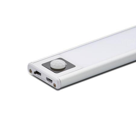 Electralite Slim Rechargeable 200mm 1W Cabinet Light 4000K with PIR Sensor | CUL-37386