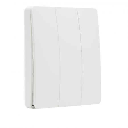 Forum Culina Konect 3 Channel Self-Powered Wall Switch White | CUL-37834