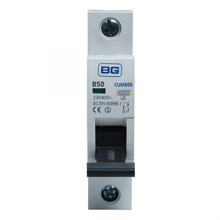 BG 50A B Type MCB (Miniature Circuit Breaker) | CUMB50