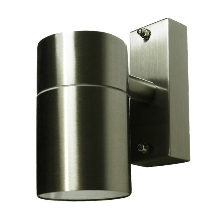 Hispec Down Wall Light Stainless Steel Finish HSLEDDL