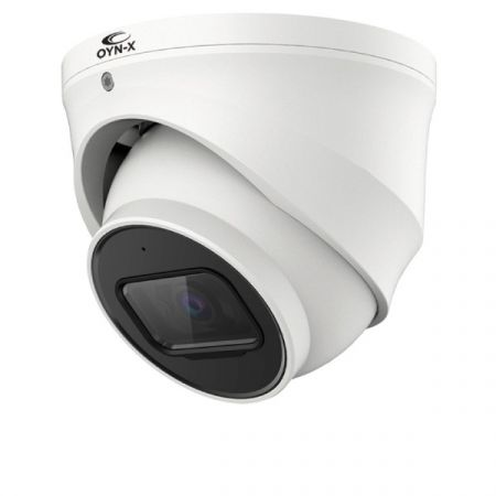 Qvis Eagle 4K 8MP Fixed Lens IR Network Turret White Camera | EAGLE-IPC-8-TUR-FW