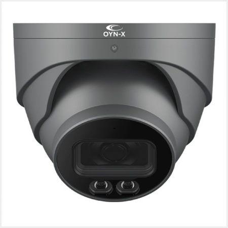 Qvis Eagle 4K 8MP Fixed Lens IR Network Turret White Camera | EAGLE4C-IP-TUR-FG
