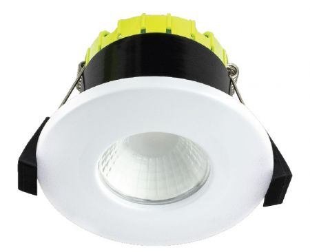Luceco Fire Rated I-Joist Fixed Compact 6W LED Downlight 3000K   EFCF60W30