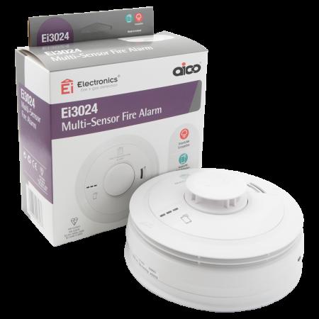 Aico 3000 Series Multi-Sensor Fire Alarm | Ei3024